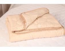 Одеяло 1.5 сп верблюжья шерсть чехол полиэстер
