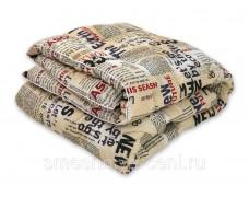 Одеяло 1.5 сп холлофайбер, рисунки чехла в ассортименте