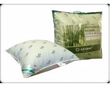 Подушка 60*60 из бамбукового волокна. Покрытие тик