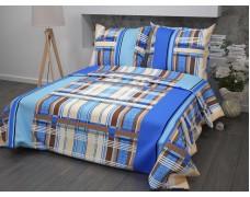 КПБ 1,5 спальный из бязи с одной наволочкой 70*70 пл 125 г/м2