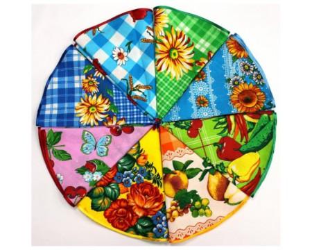 Полотенце вафельное круглое диаметр 70 см