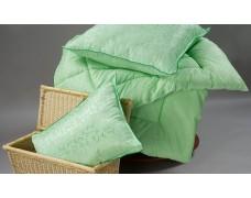 Одеяло ЕВРО из бамбукового волокна ЗИМА в чехле из трикота